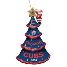 chicago cubs ornaments chrismas 2017