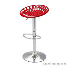 Bar Stool Sets Of 2 Adeco Red Tractor Seat Adjustable Bar Stools Set Of 2 Ch0141 1