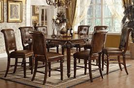 Distressed Black Dining Room Table Dining Room Black Wood Table Wooden Furniture And Chairs