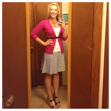 business casual work 3 skirt target sweater navy