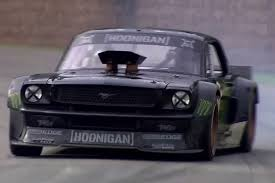 hoonigan mustang watch this insane mustang get away from ken block at goodwood