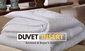 best duvet best duvet inserts 2018 lightweight down alternative for all seasons