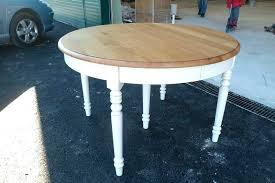 table de cuisine ronde blanche table cuisine ronde table de cuisine en bois avec rallonge table en