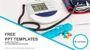 blood pressure powerpoint template free medical powerpoint