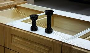 kitchen base cabinet adjustable legs frameless base cabinet adjustable plastic legs