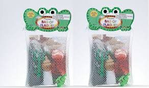 passover plague toys passover bag of plagues 2 pack the judaica place