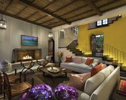 Spanish Living Room Houzz - Spanish living room design