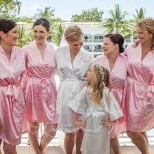 bridesmaid satin robes 3 monogrammed bridesmaid robes bridal robes satin robes