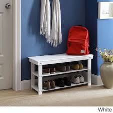 Mudroom Storage Bench Entryway Benches Settees For Less Overstock