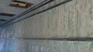 closed cell spray foam 40 u0027 shipping container youtube