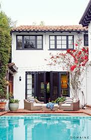 Mediterranean House Style Before And After Actress Sasha Alexander U0027s European Inspired L A