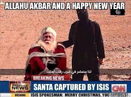 allahu akbar and a happy new year make a meme