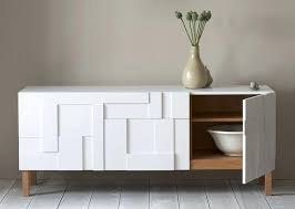 modern glass buffet cabinet buffets and sideboards contemporary modern glass buffet table white