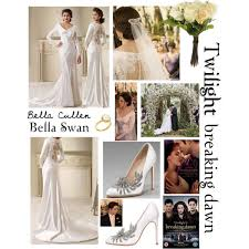 twilight wedding dress twilight saga breaking pt 1 swan wedding dress in