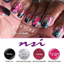 nail art brings awareness to breast cancer nsi blog