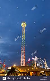 66 meter high power tower ride at the winter hyde park
