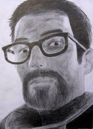 gordon freeman sketch by filiecs on deviantart