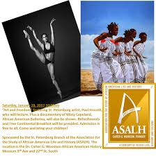 exhibits events dr carter g woodson african american museum art and freedom asalh