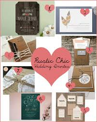 rustic chic wedding invitations thunder events rustic chic wedding invitation inspirations