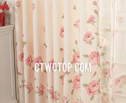 Curtains Floral And Pink Decorative Unique Vintage Organic Floral Curtains