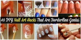40 diy nail art hacks that are borderline genius diy u0026 crafts