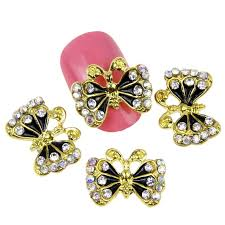 aliexpress com buy 10pcs lot fashion gold butterfly design
