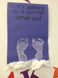 Halloween Crafts For Infants by Infant Art Walking In A Winter Wonderland Infant Art