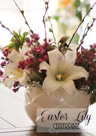 easter arrangements centerpieces easter lilies and a centerpiece hearth vine