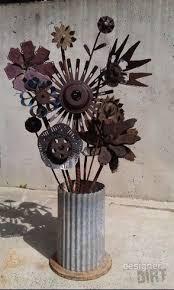 metal flowers 19 best images about garden sculpture on welding
