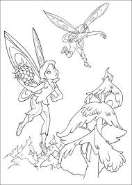 kids fun 58 coloring pages tinkerbell