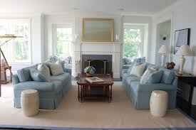 Cape Cod Nobscot Beach Style Living Room Boston By - Beach style decorating living room
