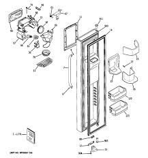 ge dss25ksrbss refrigerator parts and accessories at partswarehouse