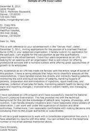 Cover Letter Samples For Resumes by Lpn Cover Letter Sample The Best Letter Sample