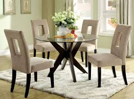 Glass Table Dining Room Sets by Dining Tables Stunning Small Round Glass Dining Table Glass