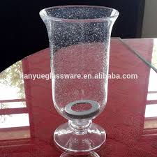 Footed Glass Vase Bubble Glass Vase Bubble Glass Vase Suppliers And Manufacturers