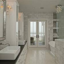double vanity with center console design ideas