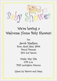 welcome home baby shower welcome home baby shower invitation wording eddiejwilliams me
