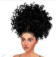 the sims 4 natural curly hair sims 4 curly hair tumblr