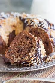 easy german chocolate bundt cake recipe the gold lining