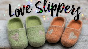 love slippers womens mens house shoes felted wool slippers with love slippers womens mens house shoes felted wool slippers with leather soles hausschuhe pantoufles