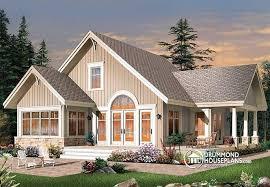 cottage open floor plans homely idea 10 open floor plans for cottages house plan w3945 detail