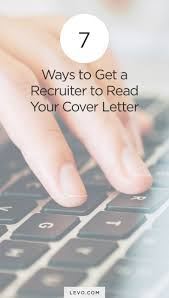 resume cover letter career change 65 best cover letter tips images on pinterest resume tips cover 7 ways to get a recruiter to read your cover letter