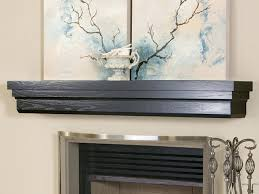 Wood Mantel Shelf Designs by Shelves This Dark Brown Wooden Fireplace Shelving Unit Looks