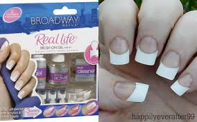 broadway gel nails kit review demo youtube