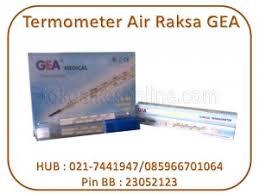 Termometer Murah termometer air raksa gea toko alat kesehatan