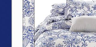 blue and white porcelain inspired duvet cover sets vaulia home