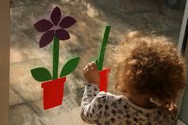 spring foam window murals the imagination tree