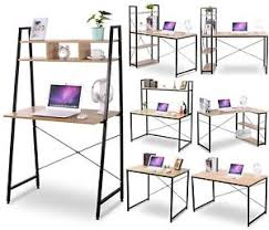 Sturdy Computer Desk Woltu Sturdy Modern Computer Desk Bookshelves Table Holding Frames
