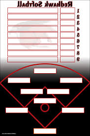softball lineup template printable best u0026 professional templates