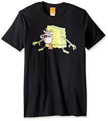 Meme Clothing - com nickelodeon men s spongebob caveman meme t shirt clothing